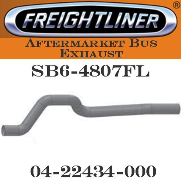"SB6-4807FL 04-22434-000  4"" Freightliner Bus Exhaust 5 Bend OD-OD ALZ"