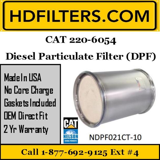 220-6054 CAT C9 DPF Diesel Particulate Filter
