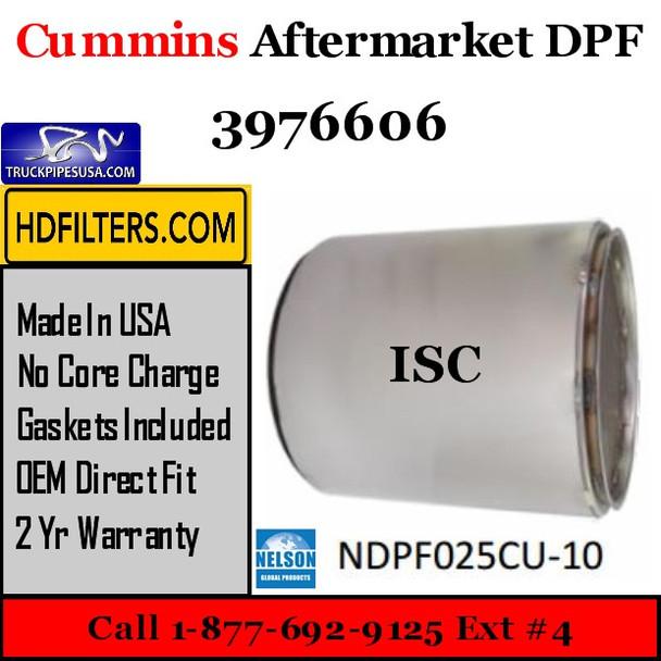3976606 Cummins ISC Engine Diesel Particulate Filter DPF
