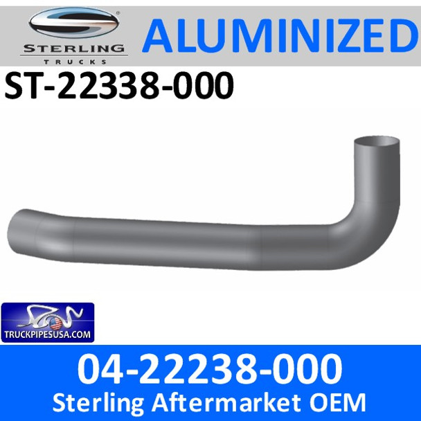 04-22338-000 Sterling Exhaust Turbo Pipe ST-22338-000 - SPECIAL ORDER