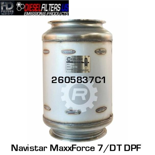 2605837C1 Navistar MaxxForce 7/DT DPF (RED 52982)