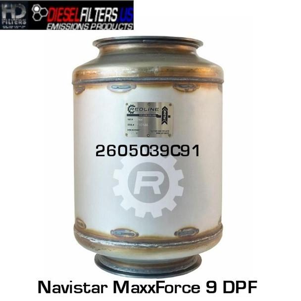 2605039C91 Navistar MaxxForce 9 DPF (RED 52964)