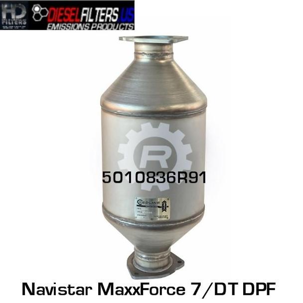 5010836R91 Navistar MaxxForce 7/DT DPF (RED 52960)