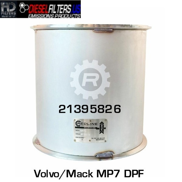21395826 Mack/Volvo MP7 DPF (RED 52975)