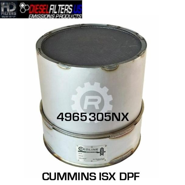 4965305NX Cummins ISX DPF (RED 52944)