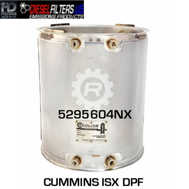 5295604NX Cummins ISX DPF (RED 52984)