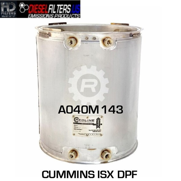 A040M143 Cummins ISX DPF (RED 52984)