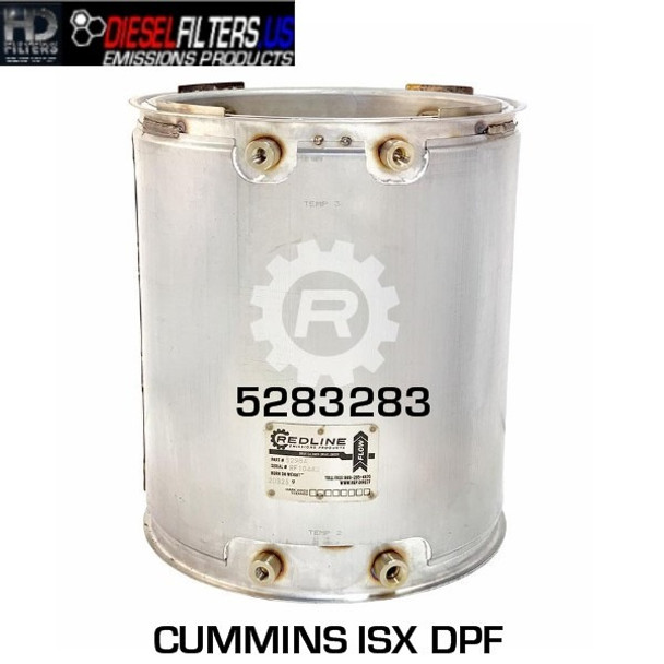 5283283 Cummins ISX DPF (RED 52984)