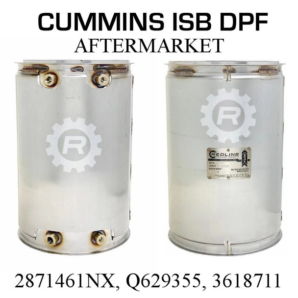 2871461 Cummins ISB DPF (RED 52981)