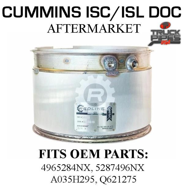 5287496NX Cummins ISC Diesel Oxidation Catalyst 58802
