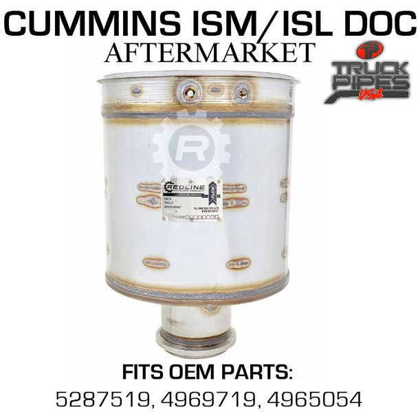 5287519 Cummins ISM/ISL Diesel Oxidation Catalyst 58817