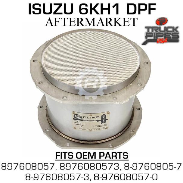 897608057 Isuzu 6KH1 Diesel Particulate Filter 58824