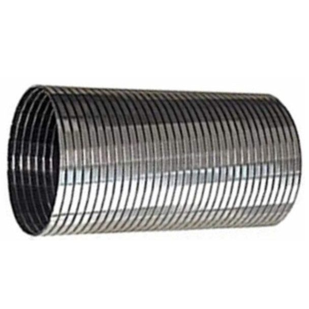 "6"" x 24"" Tec-Flex 304 Stainless Steel TRIPLE S  Flex Hose HTTF-600x24"