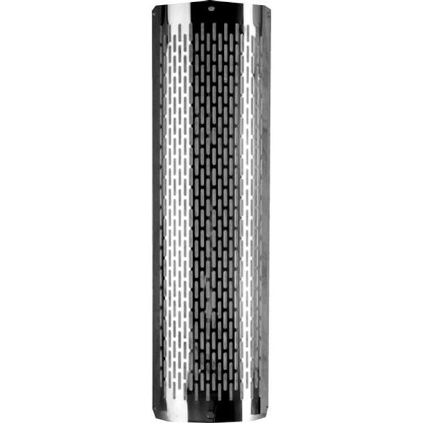 304 Stainless Steel 180 Heat Shield Vertical Slot Polished PG-VSS3