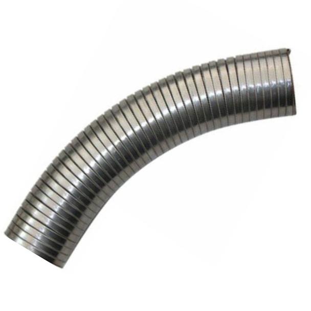 "3"" x 60"" 304 Stainless Steel Flex Exhaust Hose HTS4150-300x60"""
