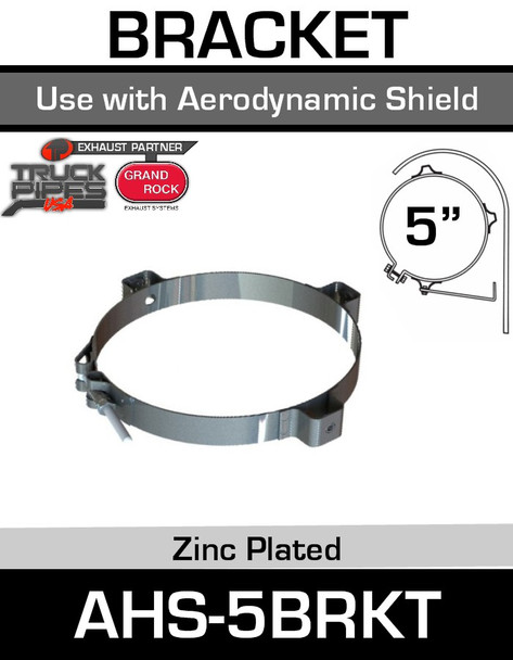 "6"" Aerodynamic Heat Shield Bracket AHS-6BRKT"
