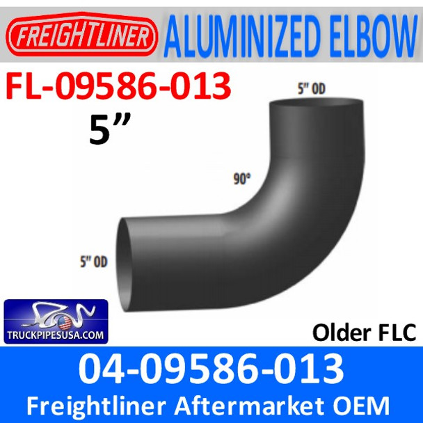 FL-09586-013 04-09586-013 Freightliner ALZ 90 Exhaust Elbow FL-09586-013