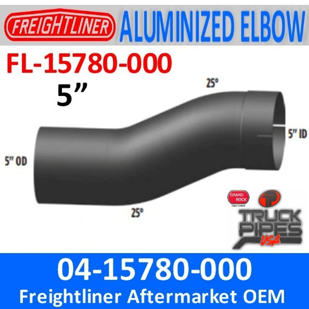 04-15780-000 Freightliner 25 Degree Double Bend Pipe FL-15780-000