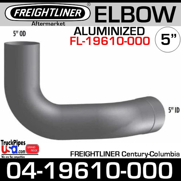 04-19610-000 Freightliner Century or Columbia Exhaust Elbow