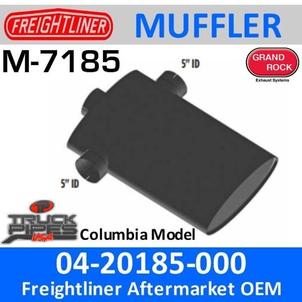"""M-7185 04-20185-000 Freightliner Columbia Muffler 8"""" x 20"""" M-7185"""