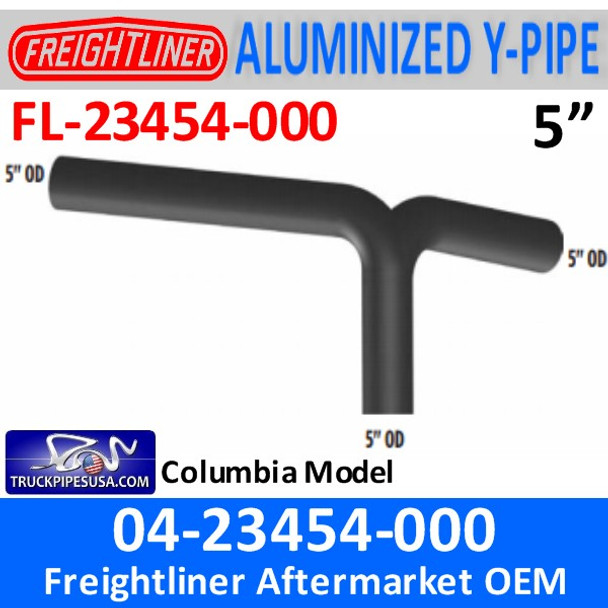 04-23454-000 Freightliner Columbia Y-Pipe Exhaust FL-23454-000