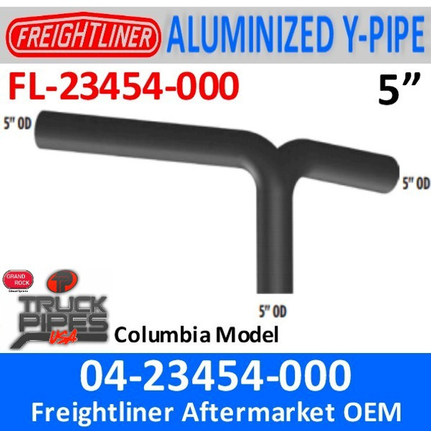 04-23454-000 Freightliner Columbia Y-Pipe Exhaust FL-23454-000
