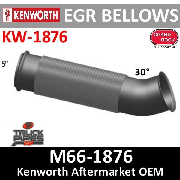 M66-1876 Kenworth Turbo Exhaust Bellows Elbow