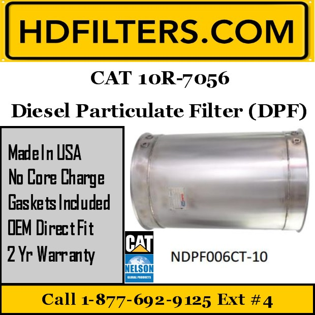 10R-7056 CAT C9/C13 DPF Diesel Particulate Filter