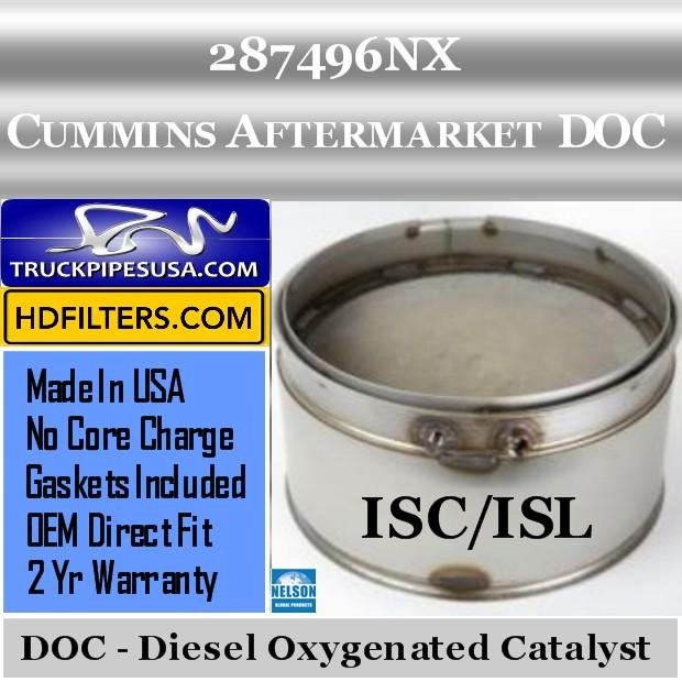 287496NX Cummins ISC/ISL Engine Diesel Oxygen Catalyst DOC
