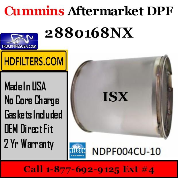2880168NX Cummins ISX Engine Diesel Particulate Filter DPF