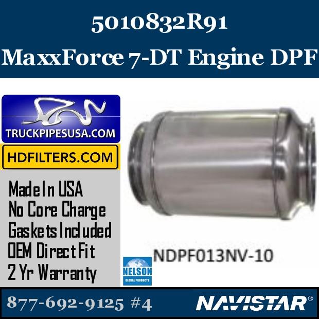 CP232717 Navistar MaxxForce 13 Engine DPF
