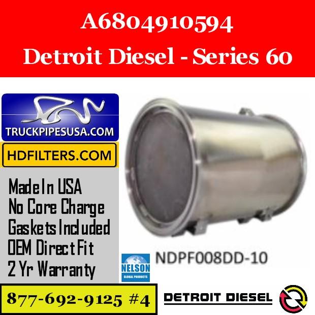 A6804910594 Detroit Diesel Series 60 Engine DPF