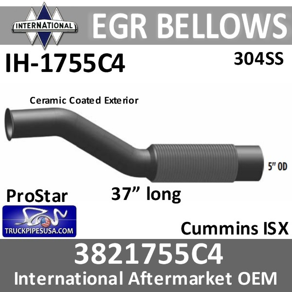3821755c4-international-egr-flex-bellows-304-stainless-steel-ih-1755c4-pro-star-truck-pipes-usa.jpg