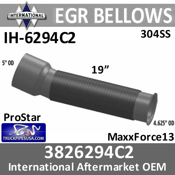 3826294c2-international-egr-flex-bellows-304-stainless-steelih-6294c2-pro-star-truck-pipes-usa.jpg