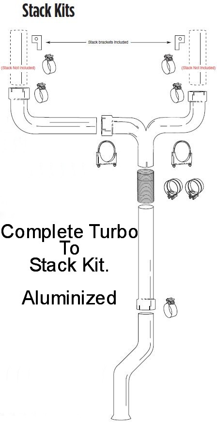Dual Stack Kits for Pick Up Trucks