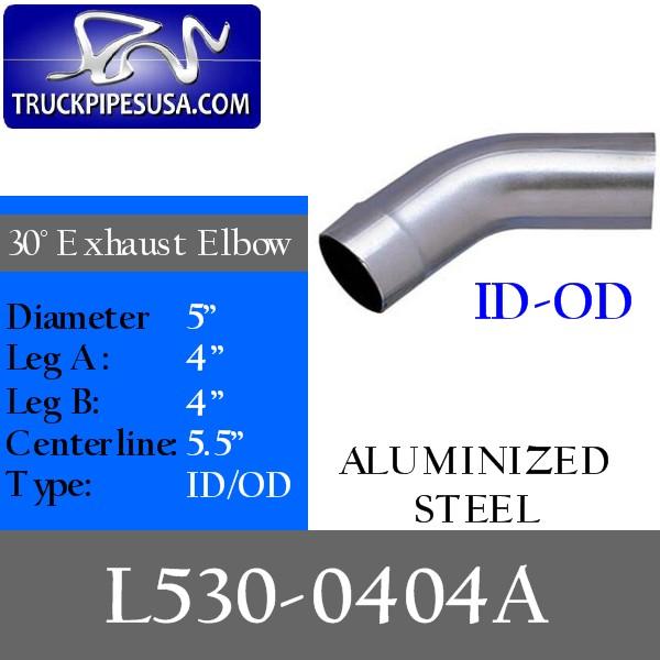 l530-0404a-30-degree-exhaust-elbow-aluminized-steel-4-inch-round-tube-4-inch-legs-id-od-tubing-for-big-rig-trucks.jpg
