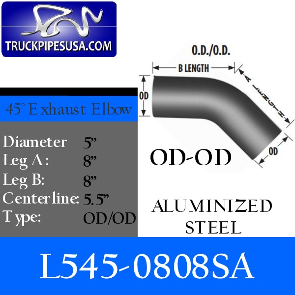 l545-0808sa-45-degree-exhaust-elbow-aluminized-steel-5-inch-round-tube-8-inch-legs-od-od-tubing-for-big-rig-trucks.jpg