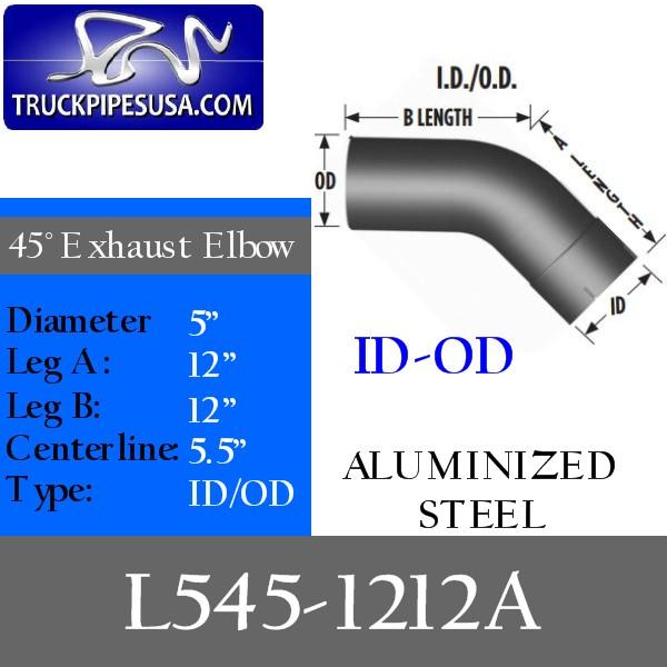 l545-1212a-45-degree-exhaust-elbow-aluminized-steel-5-inch-round-tube-12-inch-legs-id-od-tubing-for-big-rig-trucks.jpg