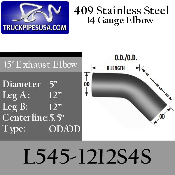 l545-1212s4s-45-degree-409-stainless-steel-exhaust-elbow-5-inch-round-tube-12-inch-legs-od-od-tubing-for-big-rig-trucks.jpg
