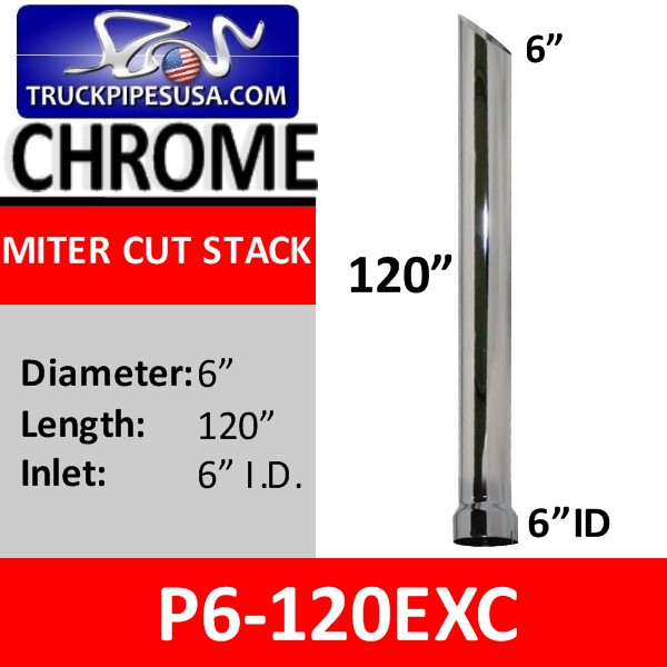 p6-120exc-miter-chrome-exhaust-stack-pipe-6-inch-diameter-id-bottom-120-inches-long.jpg