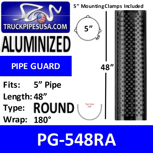 pg-548ra-5-inch-muffler-pipe-guard-48-inch-long-180-degree-round-slot-aluminized-steel-pipe-guard.jpg