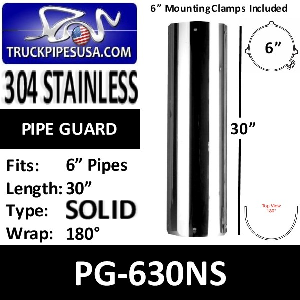 pg-630ns-6-inch-heat-shield-30-inch-long-180-degree-solid-no-slot-304-polished-stainless-steel-pipe-guard.jpg
