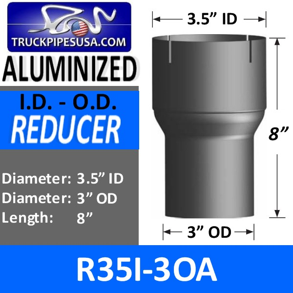 r35i-3oa-exhaust-reducer-id-to-od-aluminized-exhaust-3-5-inch-id-to3-inch-od-8-inches-long.jpg