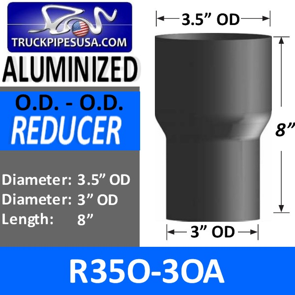 r35o-3oa-exhaust-reducer-od-to-od-aluminized-exhaust-3-5-inch-od-to-3-inch-od-8-inches-long.jpg