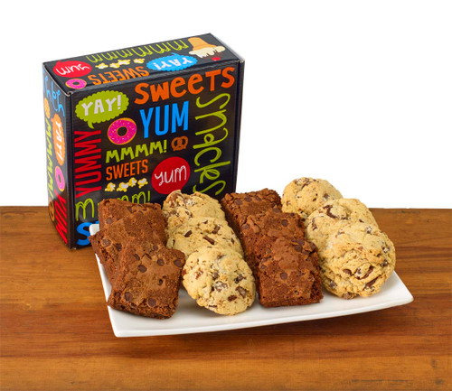 Snack Attack - Combination pack of Brownies & Chocolate Chip Cookies
