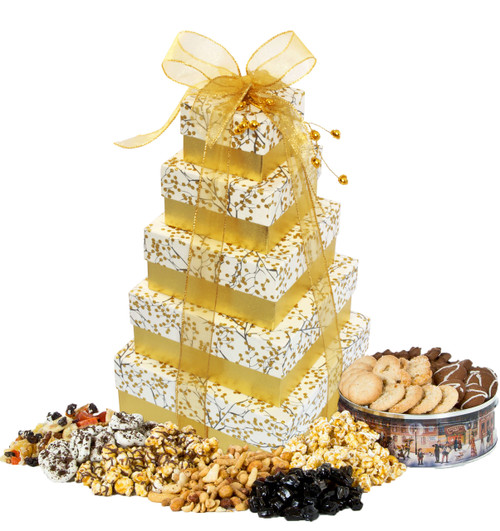 Enchanted 5 Tier Tower with Treats