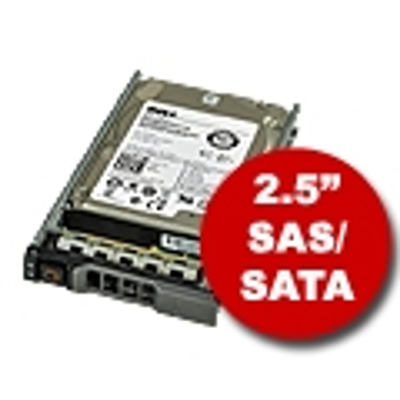 """2.5"""" SAS/SATA Hard Drives & Trays"""