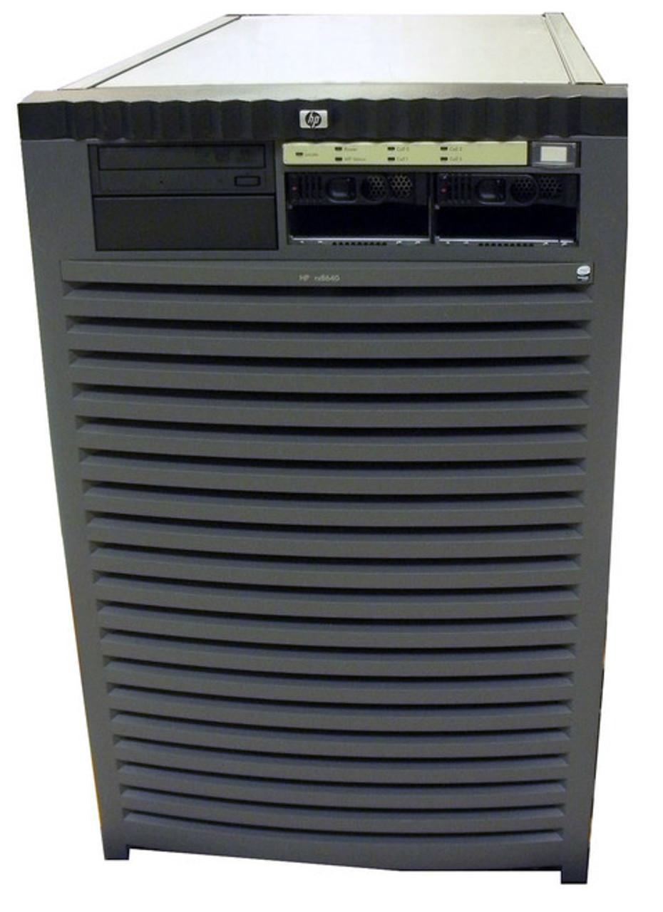 HP Integrity rx8640 Servers