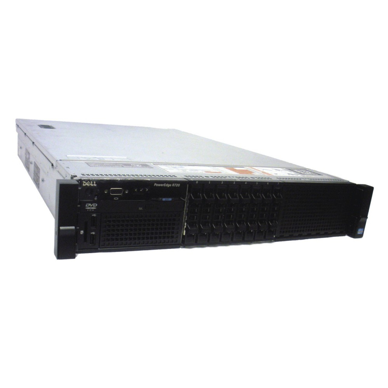 Build Your Own Dell PowerEdge R710 2.5 Server 2x X5570 2.93GHz Quad Core PERC6