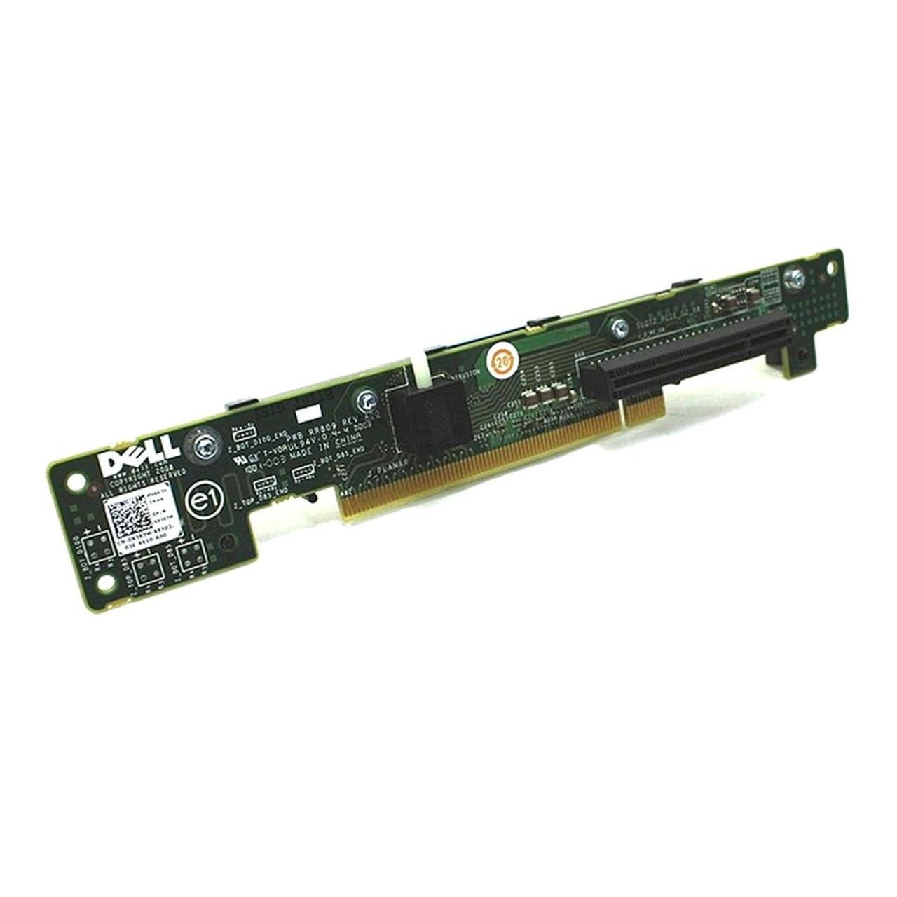 Dell PowerEdge R610 Left PCI-E 8x Riser Board X387M